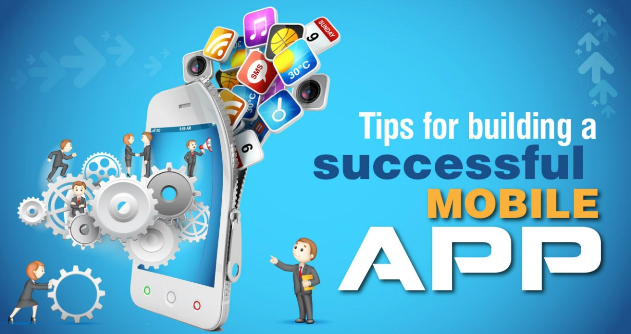 Tips for Building Mobile App Infographic