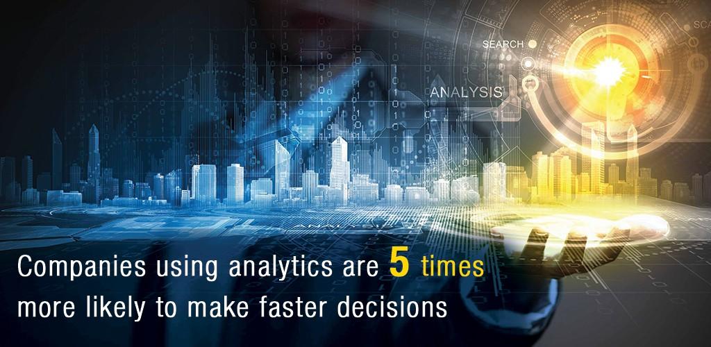 Companies Using Analytics
