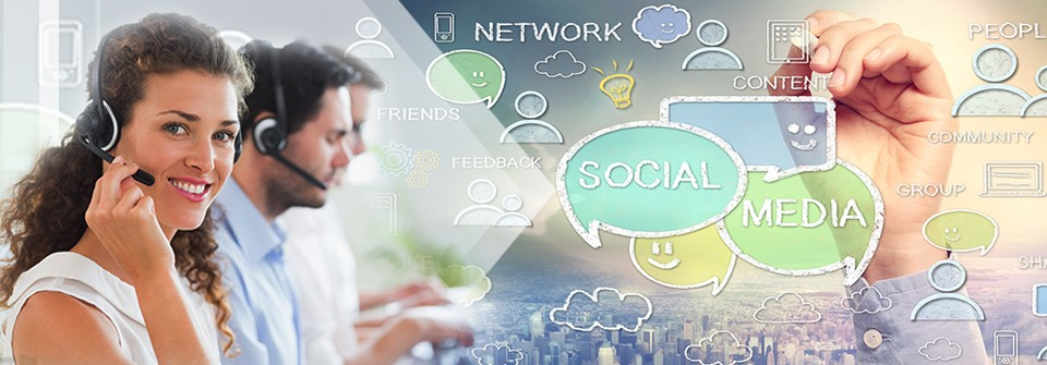 Fast-forward with Social Media in Contact Centers