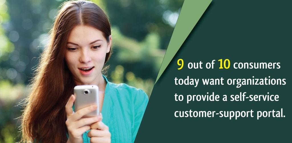 Self Service Customer Support Portal