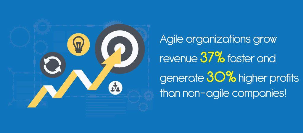 Agile Organizations Grow Revenue