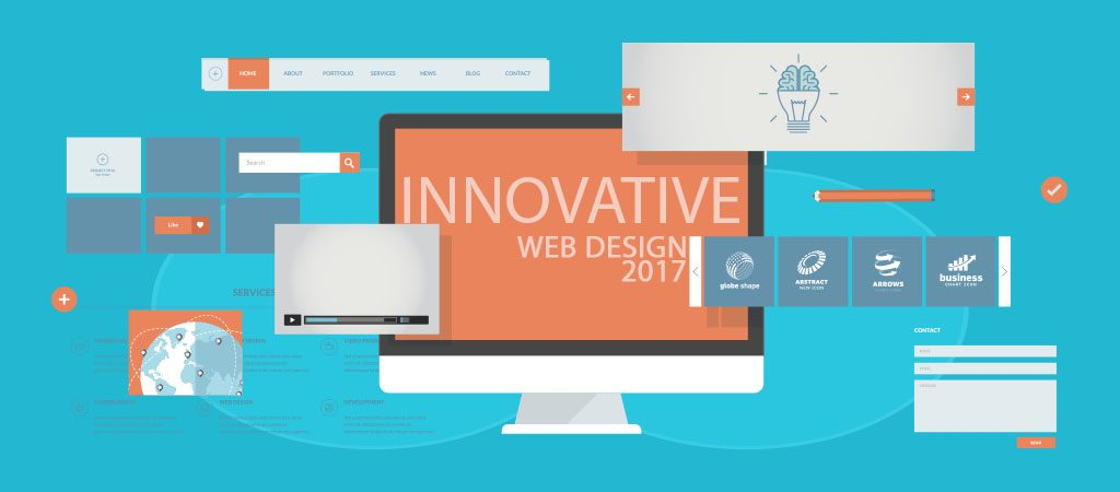 Innovative Web Design Trends that will shape in 2017