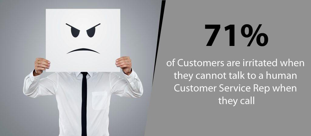 Customers Are Irritated