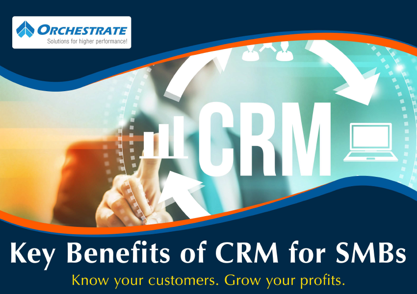 Key Benefits of CRM for SMBs - Free eBook