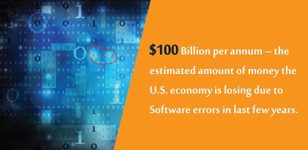 US Economy is losing due to Software Errors