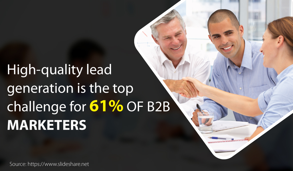 High quality lead generation