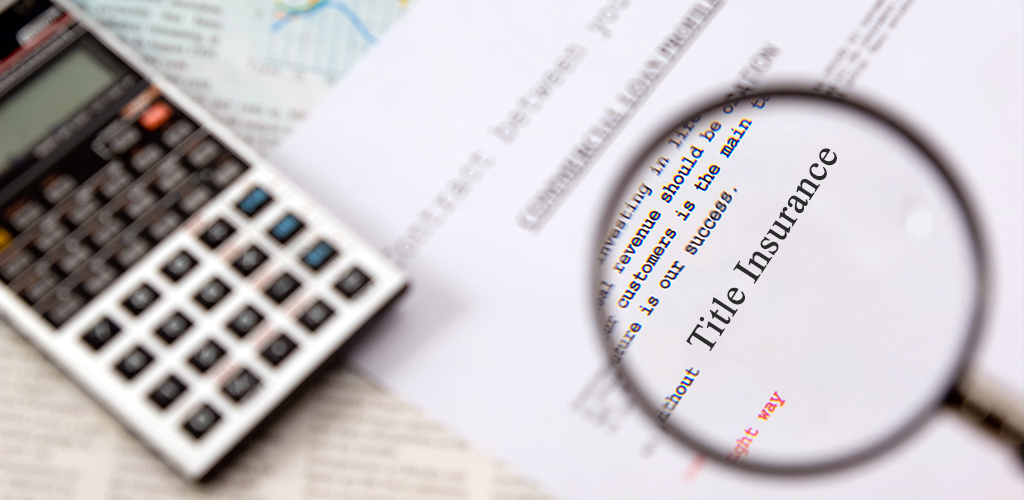 Title Insurance in the home-buying process